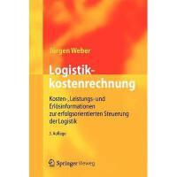 【预订】Logistikkostenrechnung: Kosten-, Leistungs- Und