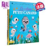 【中商原版】法文书 丑小鸭 Le vilain petit canard (Un petit livre dor) 配音