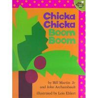 【现货】英文原版儿童书 Chicka Chicka Boom Boom 叽喀叽喀碰碰 (名家绘本)