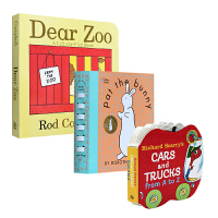 Pat The Bunny拍拍小兔子 触摸书 Dear zoo Cars and Trucks: From A To