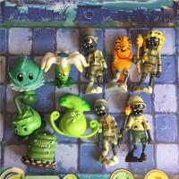 儿童礼物套装手办模型植物大战僵尸玩具 公仔玩偶 车载摆件 全套