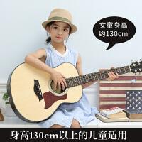 小吉它缺角民谣电箱吉他旅行吉他单板36寸初学者男女生儿童