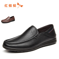 红蜻蜓男鞋商务休闲皮鞋秋冬鞋子男WTA7423