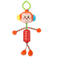 【春季新品】可爱儿童毛绒玩具 婴儿车挂床挂件新生儿动物卡通床铃公仔毛绒玩具