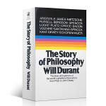 正版现货 哲学的故事 英文原版书 the story of philosophy will durant 哲学简史 全