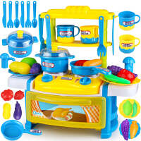 女宝宝做饭女童1-2-3-5-6-8岁小孩过家家儿童厨房玩具套装小厨具