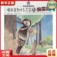 啄木鸟为什么不会得脑震荡 趣味科普绘本 寒松著,华予 绘图 金盾出版社 9787518603602 新华正版 全国85