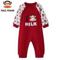 PWU17310*嘴猴(paul frank)婴儿圆领长袖连身衣男童连体衣1入装