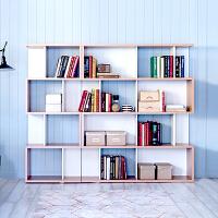 百意空间 现代简约古董架 自由组合书架 书柜 书柜 置物架 玄关柜 隔断架子