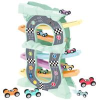 儿童轨道车抖音款玩具车小汽车一岁宝宝玩具滑翔车1男孩2-3岁