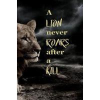 【预订】A Lion Never Roars After a Kill: Blank Journal and Spor