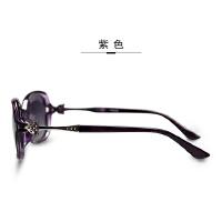 时尚小框优雅狐狸头驾驶墨镜近视太阳镜 女 偏光镜