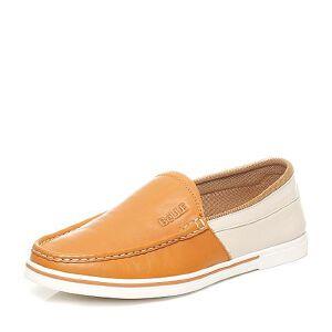 Belle/百丽专柜同款夏季时尚休闲拼色男单鞋4KT01BM6