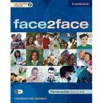 【预订】Face2Face Pre-Intermediate Student's Book [With