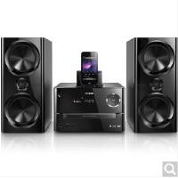 飞利浦DTD3190蓝牙音响 DVD cd机家庭组合音响 苹果5/6P/7P音乐底座音箱 黑色
