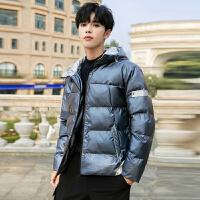 棉衣冬季2019新款韩版男潮流加厚保暖外套百搭帅气潮牌连帽冬装