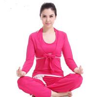 秋冬新款舞蹈健身 瑜珈服愈加服三件套女士瑜伽服