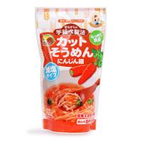 日本原产 妙谷胡萝卜味 手延短面 100g 婴幼儿宝宝辅食面条