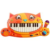 大嘴猫琴儿童钢琴比乐宝宝男女孩音乐玩具早教电子