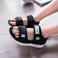 男女童凉鞋新款儿童沙滩鞋宝宝凉鞋露趾学生休闲夏季鞋子