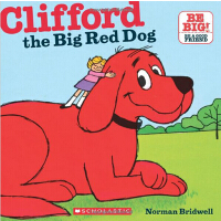英文原版Clifford The Big Red Dog (8X8) 大红狗