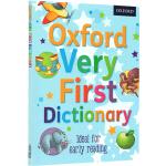 英文原版 Oxford Very First Dictionary 牛津儿童启蒙图画图解词典 辞典