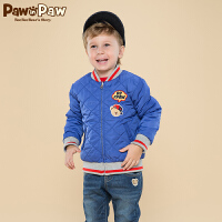 【2件2.5折 到手价:200元】Pawinpaw宝英宝卡通小熊童装冬季款男童棉服