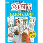 Build a Poster Coloring Book--Farm & Zoo
