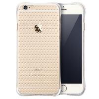 蛇蝎龙 防摔气囊凸点透明TPU软壳硅胶保护套手机壳 适用于苹果 iPhone 6/6plus