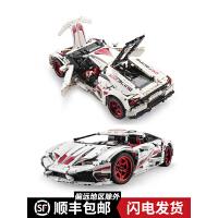 乐高兰博基尼积木大人成年高难度益智男孩汽车模型立体拼装玩具