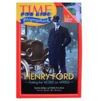 英文原版 Time For Kids Biographies时代周刊儿童版人物传记系列Henry Ford 亨利・福特