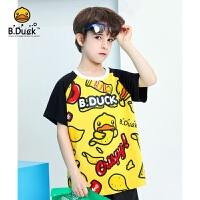 【3折价:68.7】B.Duck小黄鸭童装男女童圆领短袖T恤BF2101928