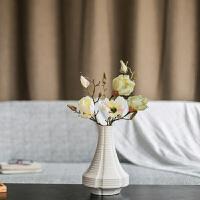 现代简约创意时尚家居摆件陶瓷花瓶仿真花干花假话花器插花