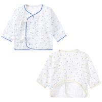 新生婴儿内衣防尿衣男女宝宝夏装衣服纱布纯棉薄