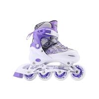 溜冰鞋女大学生成年旱冰鞋滑冰儿童全套装直排轮滑鞋初学者男