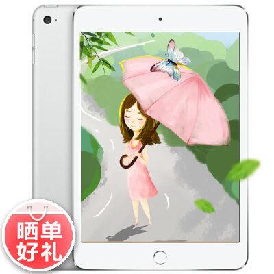 苹果Apple iPad mini 4 128G wifi版 7.9英寸迷你平板电脑(800万像素摄像头 A8芯片 指纹识别 Retina显示屏晒单赠保护套+膜!顺丰包邮 国行联保