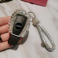 适合奔驰c200l钥匙套女士GLC260C级c180钥匙扣车钥匙包gla200可爱