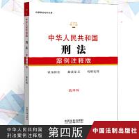 正版现货 2019年中华人民共和国刑法案例注释版第四版 以案例解读法条文解读法律法规以案释法明晰实用 中国法制出版社