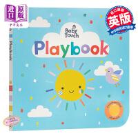 【中商原版】玩玩书 英文原版 Baby Touch: Playbook 触摸书