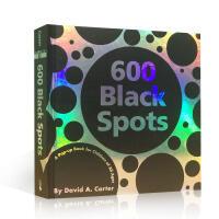 英文原版儿童艺术启蒙立体书 600 Black Spots pop-up 六百个黑点进口儿童艺术3D立体故事书发挥想象