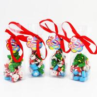 圣诞礼品文具橡皮擦迷你圣诞老人造型橡皮擦学生卡通文具奖品礼物