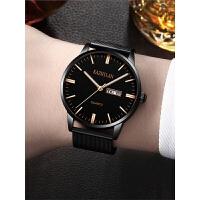 手表男士简约时尚潮流非机械表夜光新概念休闲腕表
