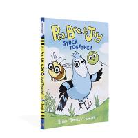 【全店300减100】英文原版进口桥梁/漫画书 豌豆、蜜蜂和杰伊#1:困在一起 Pea, Bee, & Jay #1: