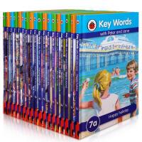 【全店300减100】英文原版绘本key words快乐瓢虫7-12级18本 英国DK50年经典读物