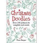 【预订】Christmas Doodles: Over 100 Pictures to Complete and