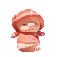 20180527160733216流氓猪公仔猪宝宝毛绒玩具布偶娃娃小猪玩偶可爱女生睡觉抱超萌女 粉色