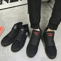 DAZED CONFUSED 潮牌男鞋韩版潮流老北京布鞋男士棉鞋冬季加绒休闲鞋板鞋