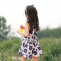 女童夏季裙子纯棉2018新款公主童装3岁5宝宝夏装儿童连衣裙