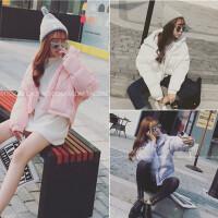 羽绒棉衣女ulzzang冬季保暖面包服韩国版短款加厚学生外套潮