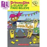 【中商原版】学乐大树系列 粉色公主与虚幻岛3 Princess Pink 章节书 桥梁书 儿童英文小说 英文原版 7-1